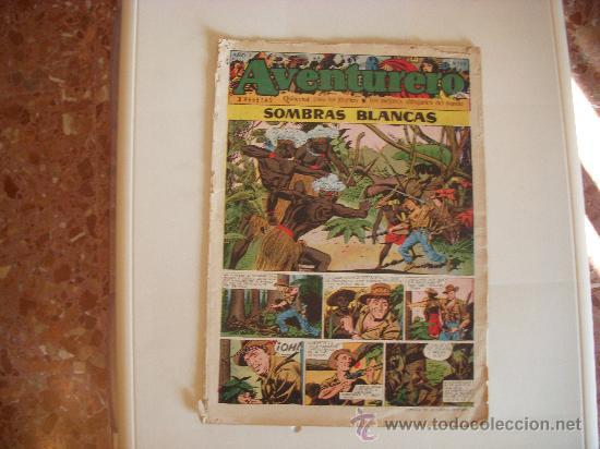 AVENTURERO Nº13,ED.CLIPER,AÑO 1953 (Tebeos y Comics - Cliper - Aventurero)
