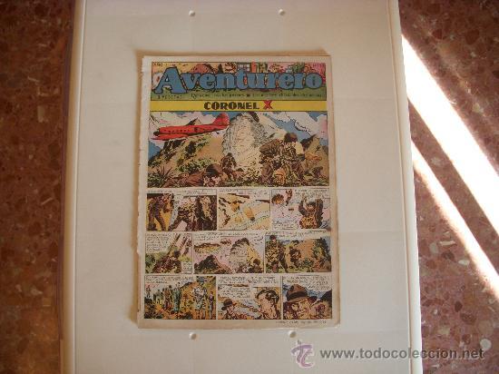 AVENTURERO Nº20,ED.CLIPER,AÑO 1953 (Tebeos y Comics - Cliper - Aventurero)