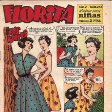 Tebeos: FLORITA Nº 244 EDICIONES CLIPER . Lote 16518751