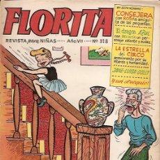 Tebeos: FLORITA Nº 318 EDICIONES CLIPER . Lote 16518858