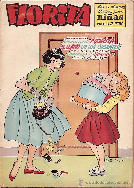 FLORITA Nº 342 EDICIONES CLIPER (Tebeos y Comics - Cliper - Florita)