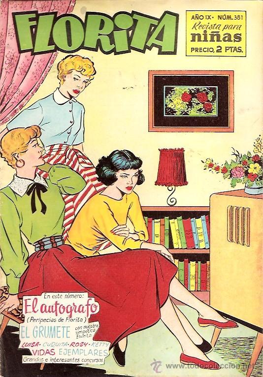 FLORITA Nº 381 EDICIONES CLIPER (Tebeos y Comics - Cliper - Florita)