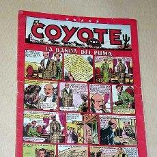 Tebeos: EL COYOTE Nº 22. LA BANDA DEL PUMA. BATET, BLASCO, ENCAPUCHADO. DARNÍS, ROSO, ALFEREZ. CLIPER 1948.+. Lote 27305824