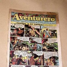 Tebeos: AVENTURERO Nº 2. EDICIONES FUTURO 1953. MISTERIX, CAPITÁN RIDO, RIBERA, FIGUERAS, MATHELOT, TEY.++++. Lote 27305828