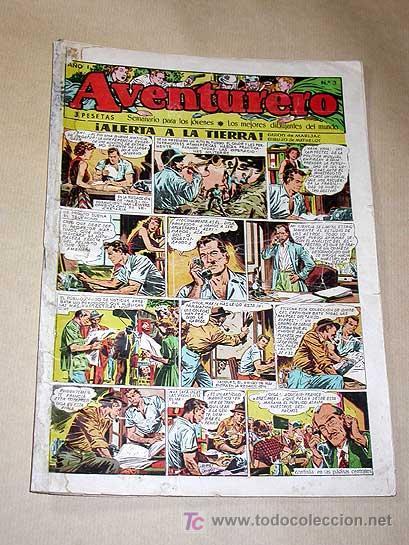 AVENTURERO Nº 3. EDICIONES FUTURO 1953. MISTERIX, CAPITÁN RIDO, RIBERA, FIGUERAS, MATHELOT, TEY.++++ (Tebeos y Comics - Cliper - Aventurero)