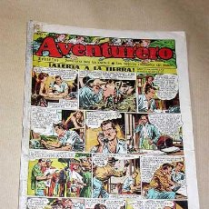 Tebeos: AVENTURERO Nº 3. EDICIONES FUTURO 1953. MISTERIX, CAPITÁN RIDO, RIBERA, FIGUERAS, MATHELOT, TEY.++++. Lote 27305829