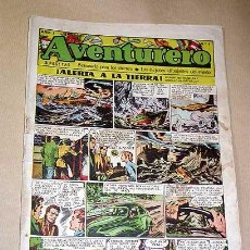 Tebeos: AVENTURERO Nº 4. EDICIONES FUTURO 1953. MISTERIX, CAPITÁN RIDO, RIBERA, FIGUERAS, MATHELOT, TEY.++++. Lote 27305830