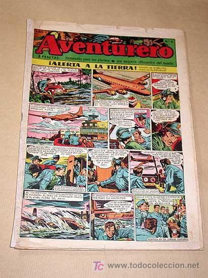 AVENTURERO Nº 6. EDICIONES FUTURO 1953. MISTERIX, CAPITÁN RIDO, RIBERA, FIGUERAS, MATHELOT, TEY.++++ (Tebeos y Comics - Cliper - Aventurero)