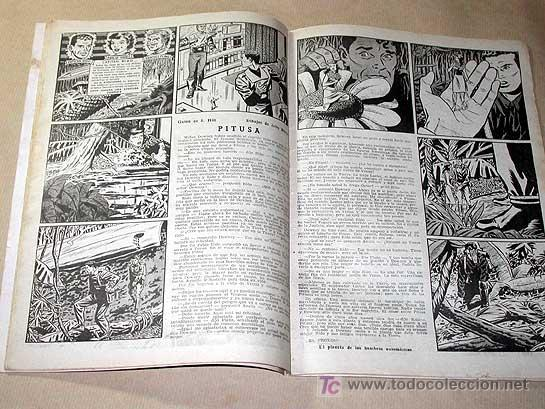 Tebeos: AVENTURERO Nº 4. EDICIONES FUTURO 1953. MISTERIX, CAPITÁN RIDO, RIBERA, FIGUERAS, MATHELOT, TEY.++++ - Foto 3 - 27305831