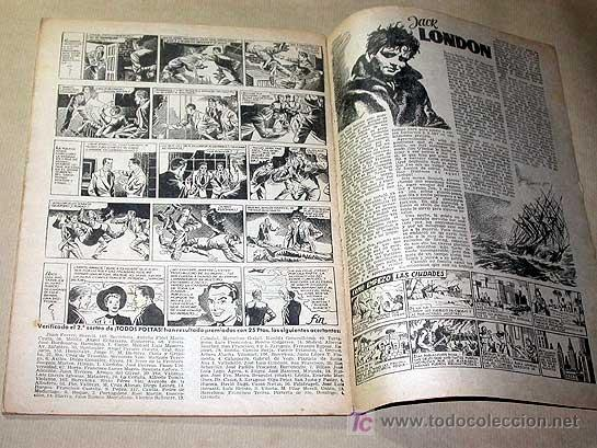 Tebeos: AVENTURERO Nº 6. EDICIONES FUTURO 1953. MISTERIX, CAPITÁN RIDO, RIBERA, FIGUERAS, MATHELOT, TEY.++++ - Foto 2 - 27305832