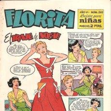 Tebeos: FLORITA Nº 265 EDICIONES CLIPER ORIGINAL . Lote 16876756