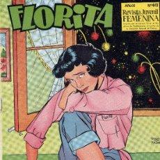 Tebeos: FLORITA Nº443 (EL MEJOR COMIC FEMENINO). Lote 17220746
