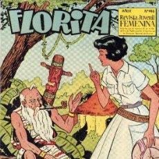 Tebeos: FLORITA Nº446 (EL MEJOR COMIC FEMENINO). Lote 17220857