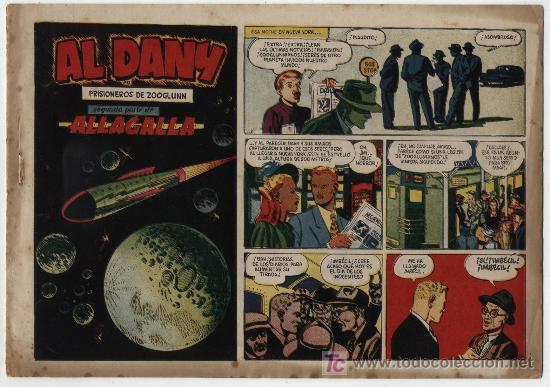 AL DANY Nº 2. PRISIONEROS DE ZOOGLUNN. CLIPER 1953. (Tebeos y Comics - Cliper - Otros)