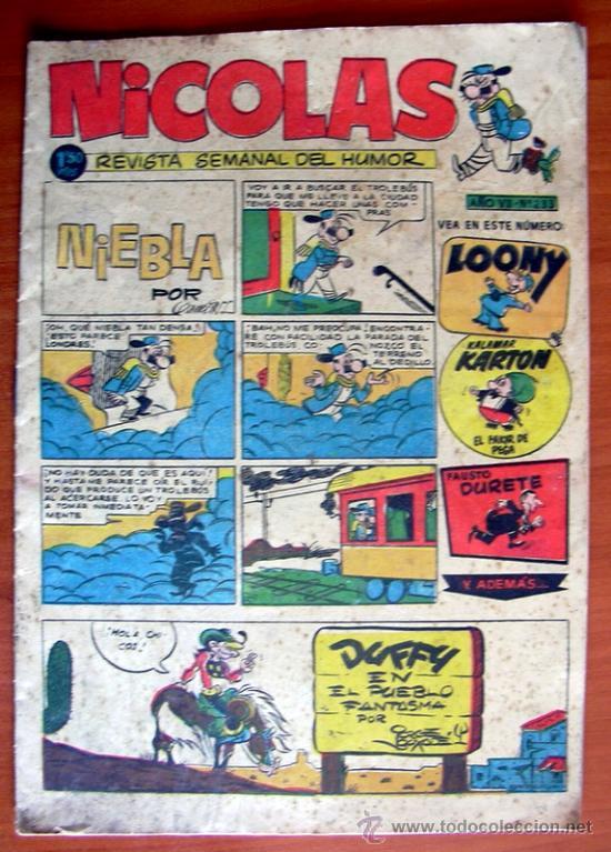 NICOLAS Nº 233 - EDITORIAL CLIPER 1948 (Tebeos y Comics - Cliper - Nicolas)