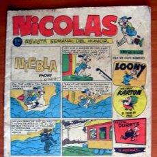 Tebeos: NICOLAS Nº 233 - EDITORIAL CLIPER 1948. Lote 18165715
