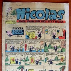 Tebeos: NICOLAS Nº 209 - EDITORIAL CLIPER 1948. Lote 18165735