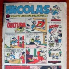 Tebeos: NICOLAS Nº 223 - EDITORIAL CLIPER 1948. Lote 18165797