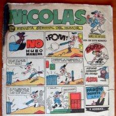Tebeos: NICOLAS Nº 222 - EDITORIAL CLIPER 1948. Lote 18171807