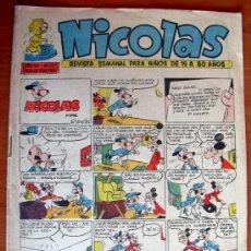 Tebeos: NICOLAS Nº 217 - EDITORIAL CLIPER 1948. Lote 18171837