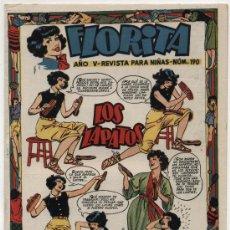 Tebeos: FLORITA Nº 190. Lote 18188739