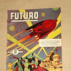 Tebeos: FUTURO Nº 8. EDICIONES CLIPER 1957. DON CONQUEST. JIM STALWART. RAF. SEGURA. RIPOLL G. +++. Lote 27361268