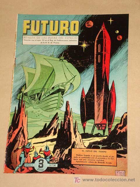 FUTURO Nº 14. EDICIONES CLIPER 1957. TUNET VILA. PÉREZ FAJARDO. RAFAEL CORTIELLA. RIPOLL G. +++ (Tebeos y Comics - Cliper - Otros)