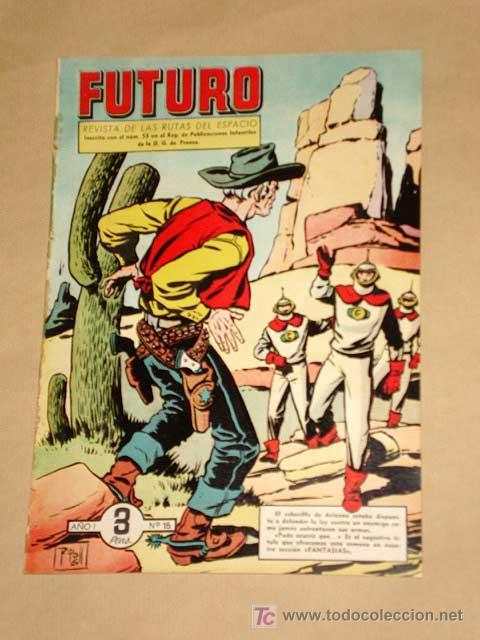 FUTURO Nº 15. EDICIONES CLIPER 1957. TUNET VILA. PÉREZ FAJARDO. RAFAEL CORTIELLA. RIPOLL G. +++ (Tebeos y Comics - Cliper - Otros)