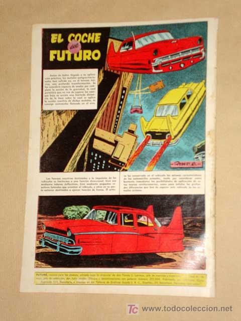 Tebeos: FUTURO Nº 6. EDICIONES CLIPER 1957. DON CONQUEST. JIM STALWART. RAF. CORTIELLA. RIPOLL G. +++ - Foto 4 - 27361267