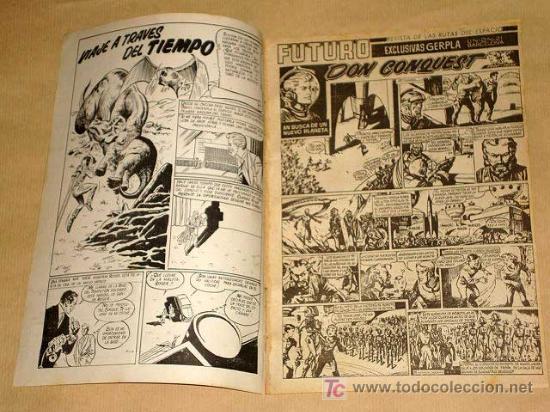 Tebeos: FUTURO Nº 9. EDICIONES CLIPER 1957. DON CONQUEST. JIM STALWART. RAF. SEGURA. RIPOLL G. +++ - Foto 2 - 27361269