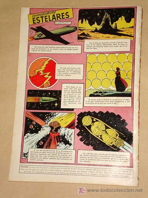 Tebeos: FUTURO Nº 12. EDICIONES CLIPER 1957. TUNET VILA. PÉREZ FAJARDO. RAFAEL CORTIELLA. RIPOLL G. +++ - Foto 4 - 27361272