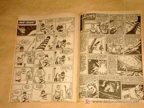 Tebeos: FUTURO Nº 14. EDICIONES CLIPER 1957. TUNET VILA. PÉREZ FAJARDO. RAFAEL CORTIELLA. RIPOLL G. +++ - Foto 3 - 27371125