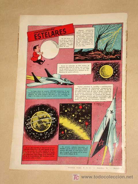 Tebeos: FUTURO Nº 14. EDICIONES CLIPER 1957. TUNET VILA. PÉREZ FAJARDO. RAFAEL CORTIELLA. RIPOLL G. +++ - Foto 4 - 27371125