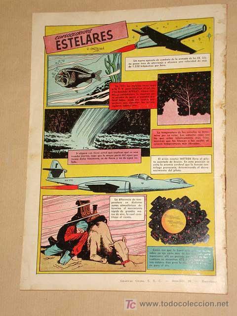Tebeos: FUTURO Nº 15. EDICIONES CLIPER 1957. TUNET VILA. PÉREZ FAJARDO. RAFAEL CORTIELLA. RIPOLL G. +++ - Foto 4 - 27371126