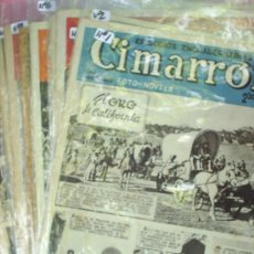 Tebeos: CIMARRON, SISTEMA FOTONOVELA , Y DIBUJO 1952 CLIPER, COLECCION COMPLETA 10 NUMEROS . Lote 22676425