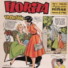 Tebeos - Florita nº 258. Cliper 1949. - 20248787