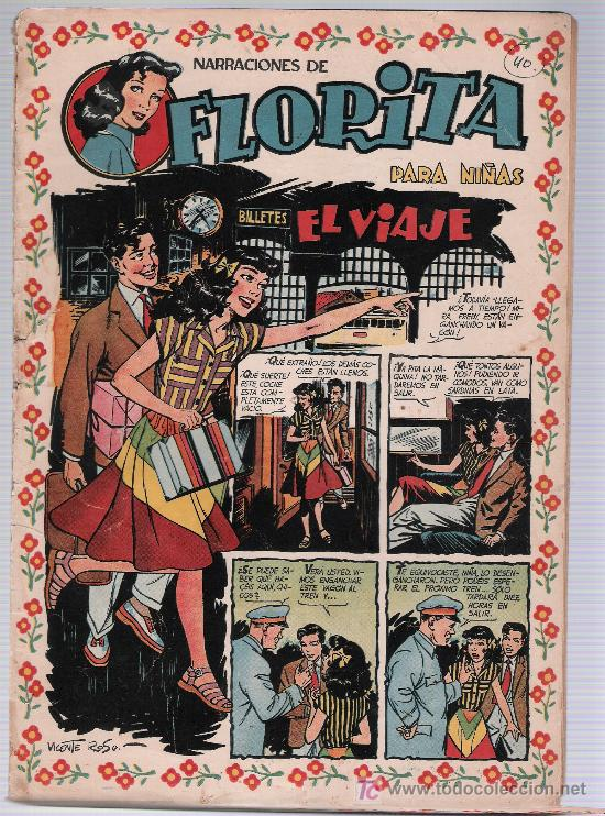 FLORITA Nº 40. CLIPER. (Tebeos y Comics - Cliper - Florita)