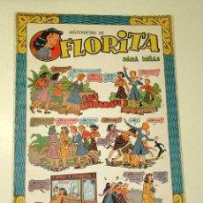 Tebeos: FLORITA Nº 19. VICENTE ROSO, SABATÉS, DARNÍS, RIPOLL G., PILI BLASCO. SALVADOR MESTRES. CLIPER 1950+. Lote 25306083