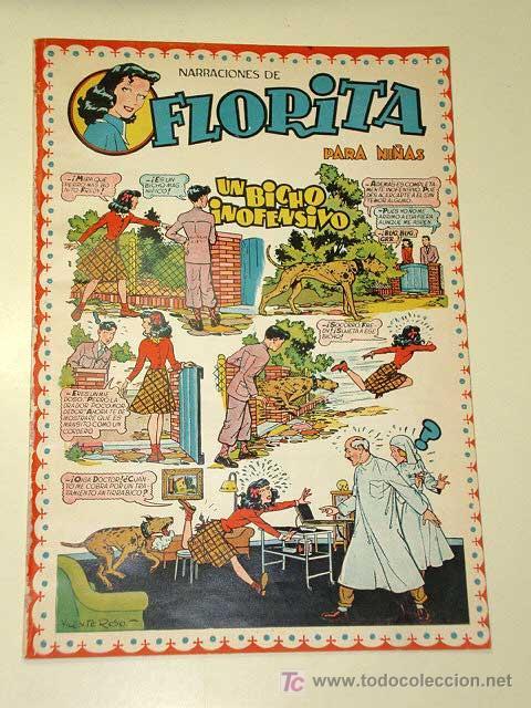 FLORITA Nº 18. VICENTE ROSO, SABATÉS, DARNÍS, RIPOLL G., PILI BLASCO, MACIÁN, GARCÍA. CLIPER 1950+ (Tebeos y Comics - Cliper - Florita)