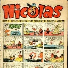 Tebeos: NICOLAS - Nº 173 - EDICIONES CLIPER - ORIGINAL. Lote 20808931