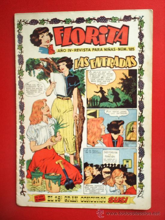 FLORITA N. 185 . EDICIONES CLIPER (Tebeos y Comics - Cliper - Florita)