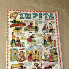 Tebeos: LUPITA Nº 14. EDICIONES CLIPER 1950. RIPOLL G. URDA, MESTRES, FRANK GODWIN, BADÍA, DARNÍS, BIELSA. +. Lote 49215794