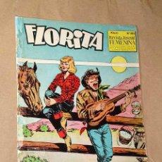 Tebeos: FLORITA Nº 483. JOSÉ LUIS OZORES. PÉREZ FAJARDO, DICK BROOKS, TUNET VILA, BARBARÁ, PILI BLASCO. ++. Lote 25702196
