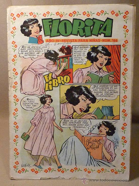 COMIC, FLORITA, EDICIONES CLIPER, Nº 166 (Tebeos y Comics - Cliper - Florita)