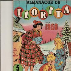 Tebeos - ALMANAQUE DE FLORITA 1958 - 22525108