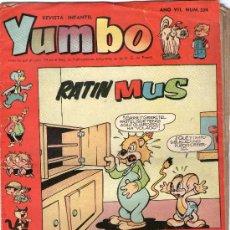 Tebeos: YUMBO - Nº 324 - EDICIONES CLIPER - ORIGINAL - AÑOS 50.. Lote 23601226
