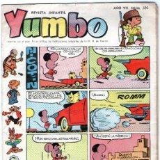 Tebeos: YUMBO - Nº 326 - EDICIONES CLIPER - ORIGINAL - AÑOS 50.. Lote 23601361