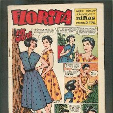 Tebeos: FLORITA Nº 244, EDITORIAL CLIPER. Lote 23785446