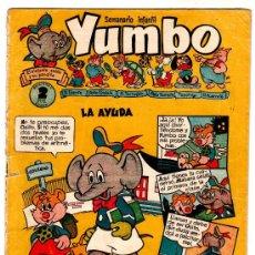 Tebeos: YUMBO Nº 14, EDI. CLIPER 1953, 20 PGS. POR J.BLASCO, FRANCIS KIRN, AYNÉ ETC.. Lote 23789048
