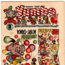 Tebeos: YUMBO Nº 21, EDI. CLIPER 1953, 20 PGS. POR J.BLASCO, FRANCIS KIRN, AYNÉ ETC.. Lote 23789079